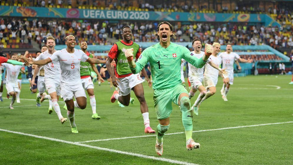 EM 2021: Schweiz gewinnt im Elfmeterschießen gegen Frankreich - Bildquelle: 2021 Getty Images