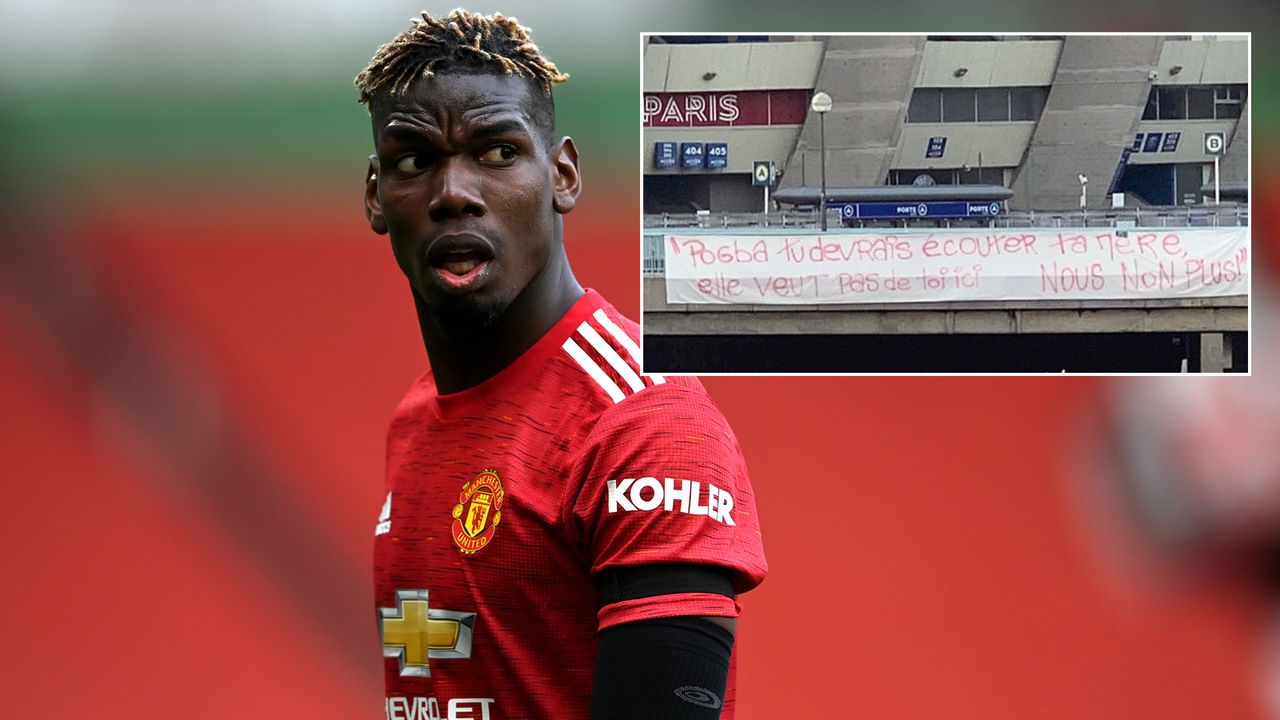 Wegen möglichen Pogba-Deal: PSG-Fans protestieren gegen Superstar - Bildquelle: Getty Images/twitter@GFFN