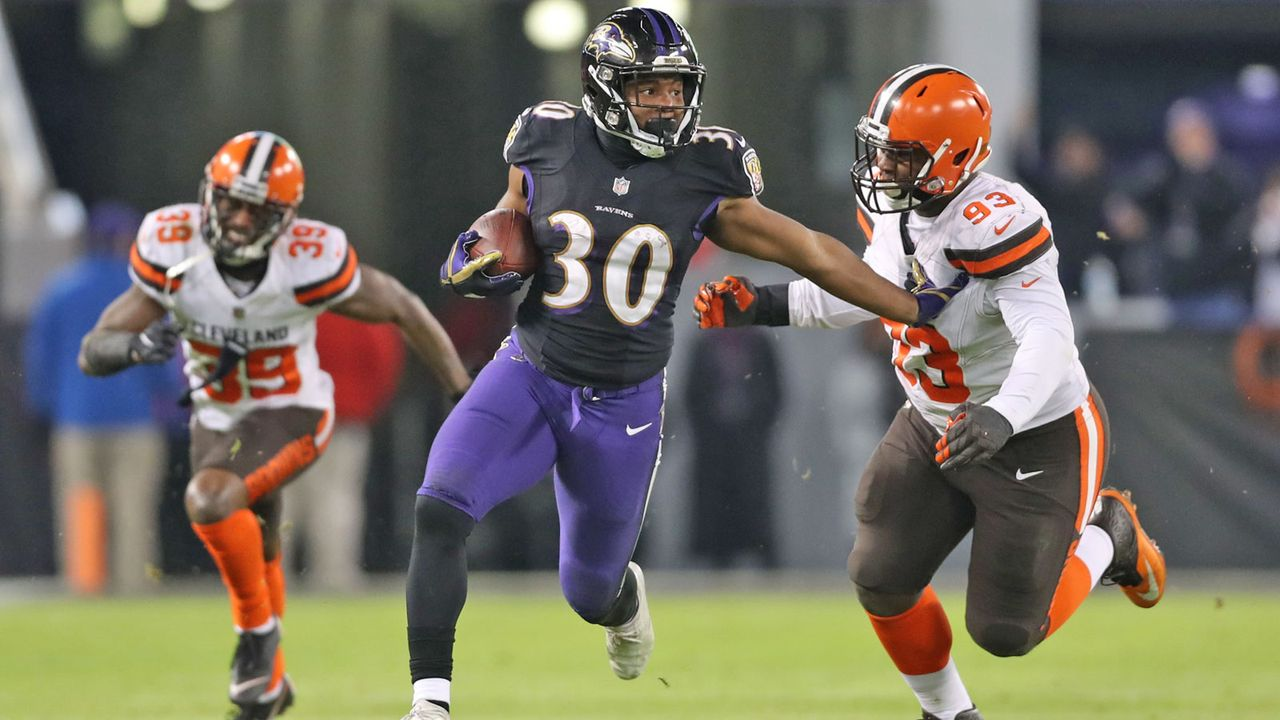 Kenneth Dixon (Baltimore Ravens) - Bildquelle: Getty