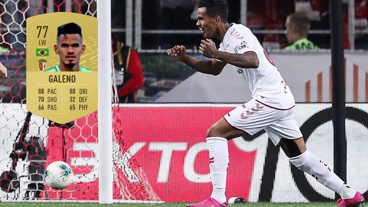 14. Galeno (Sporting Braga) - Bildquelle: imago images / ITAR-TASS