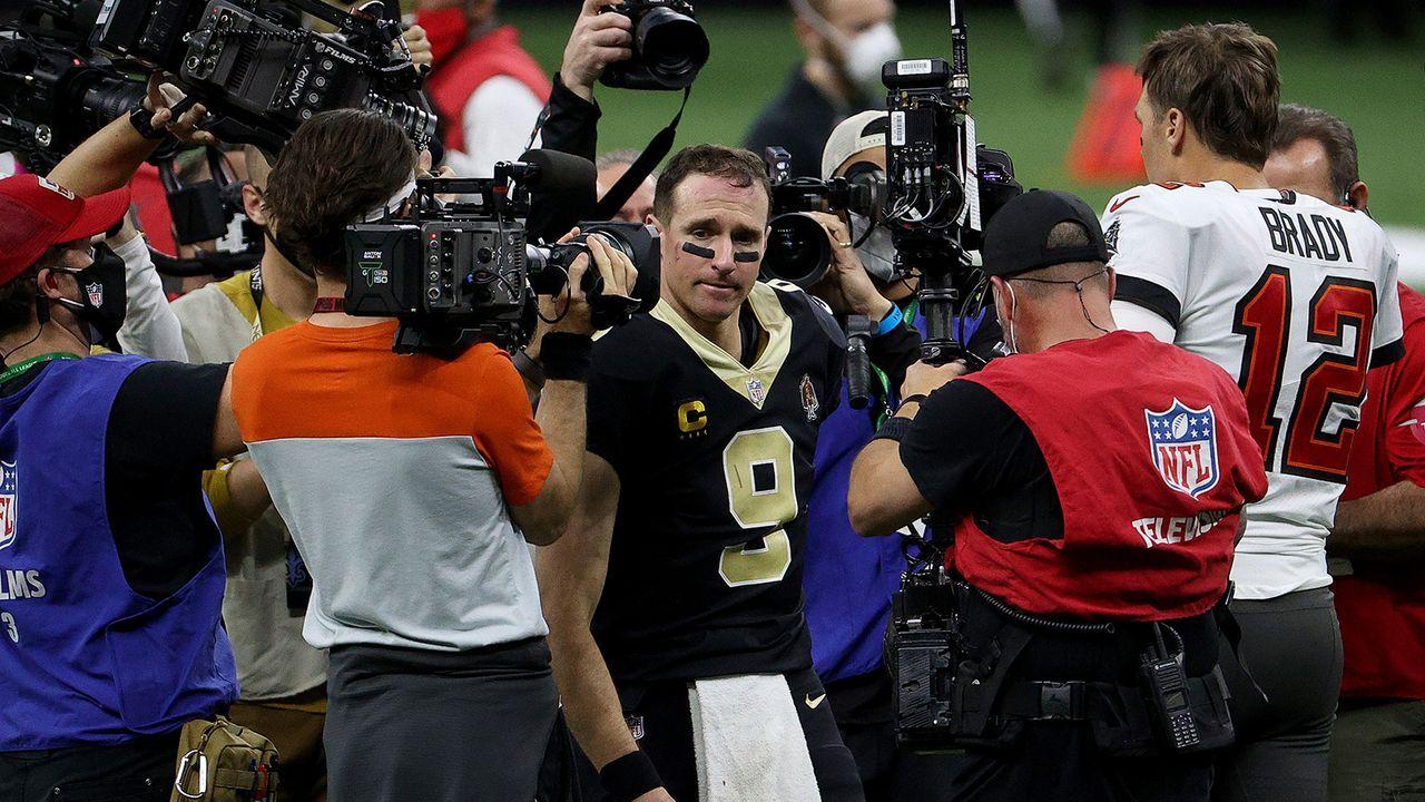 Drew Brees denkt über Karriereende nach - Bildquelle: Getty Images