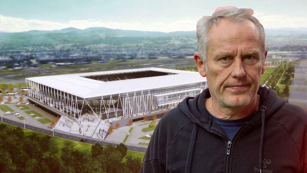 Bundesligist SC Freiburg darf sein neues Stadion aus Lärmschutzgründen nicht... - Bildquelle: imago
