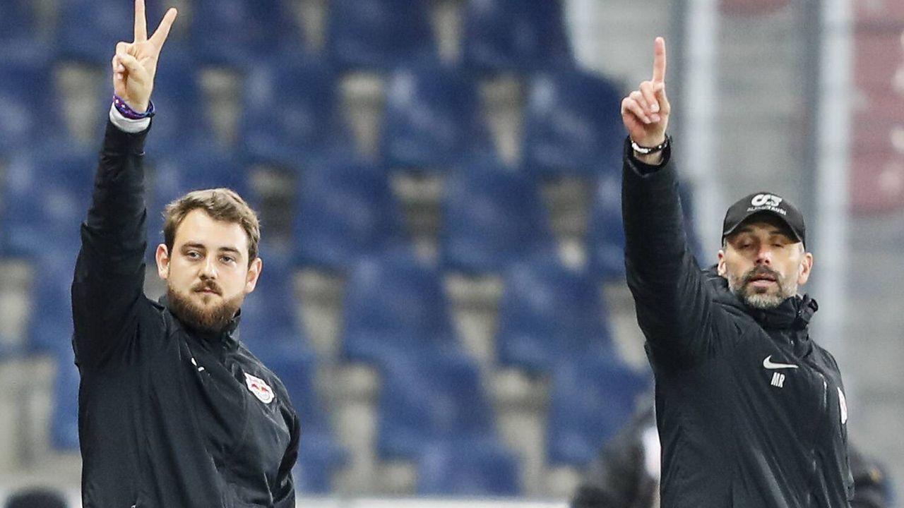 Rene Maric: Das ist Marco Roses ungewöhnlicher Co-Trainer - Bildquelle: imago images / GEPA pictures