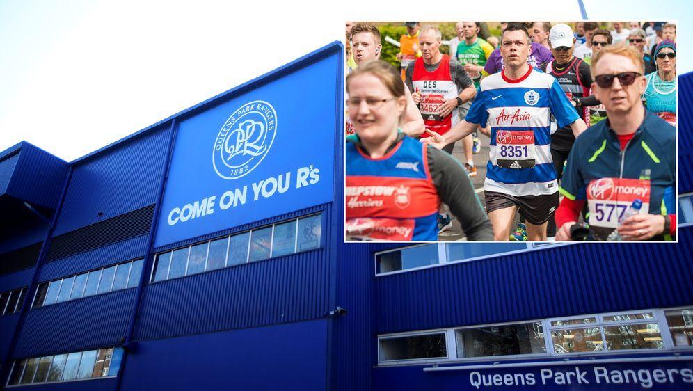 """Chris Kemp ist auch schon Marathon im Trikot """"seiner"""" Queens Park Rangers ge... - Bildquelle: Getty Images/twitter@neildejyothin"""