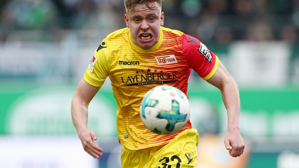 Maloney hat seinen Vertrag bei Union Berlin verlängert - Bildquelle: PIXATHLONPIXATHLONSID