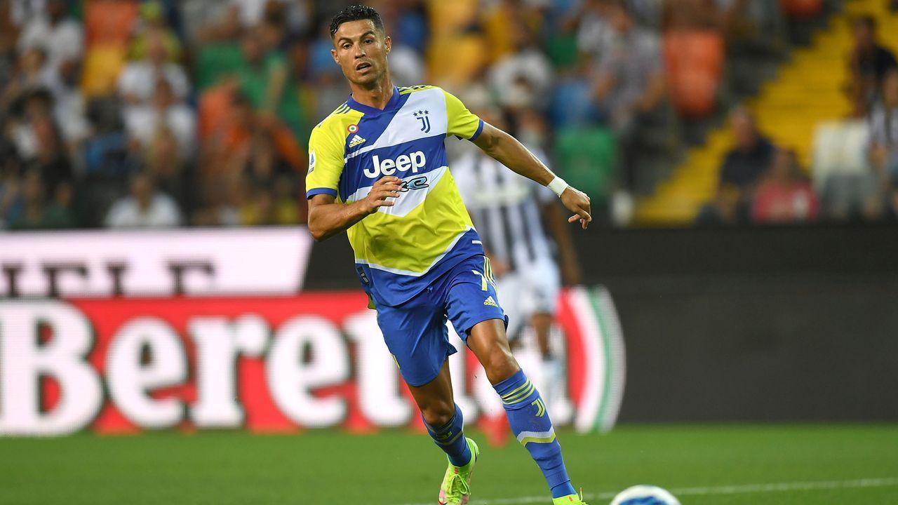 Platz 2 - Cristiano Ronaldo (Manchester United) - Bildquelle: 2021 Getty Images