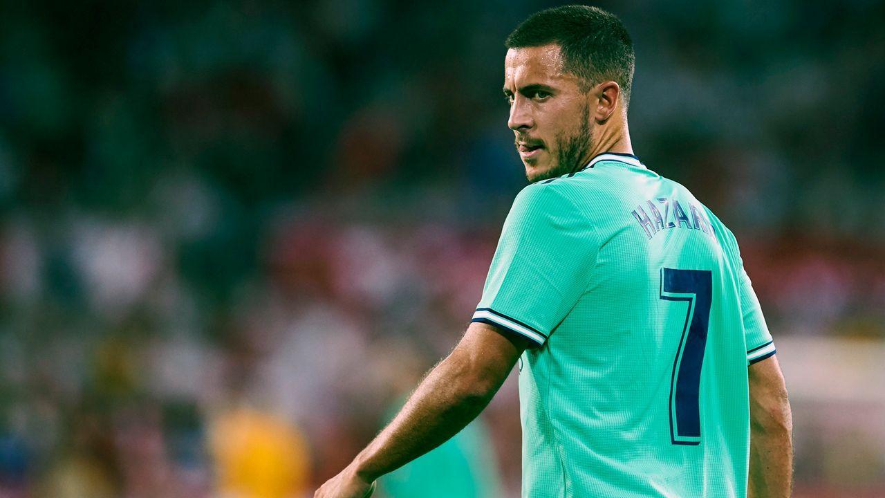 Realer Wahnsinn! Eden Hazard erklärt Nummern-Chaos von Madrid - Bildquelle: 2019 Getty Images