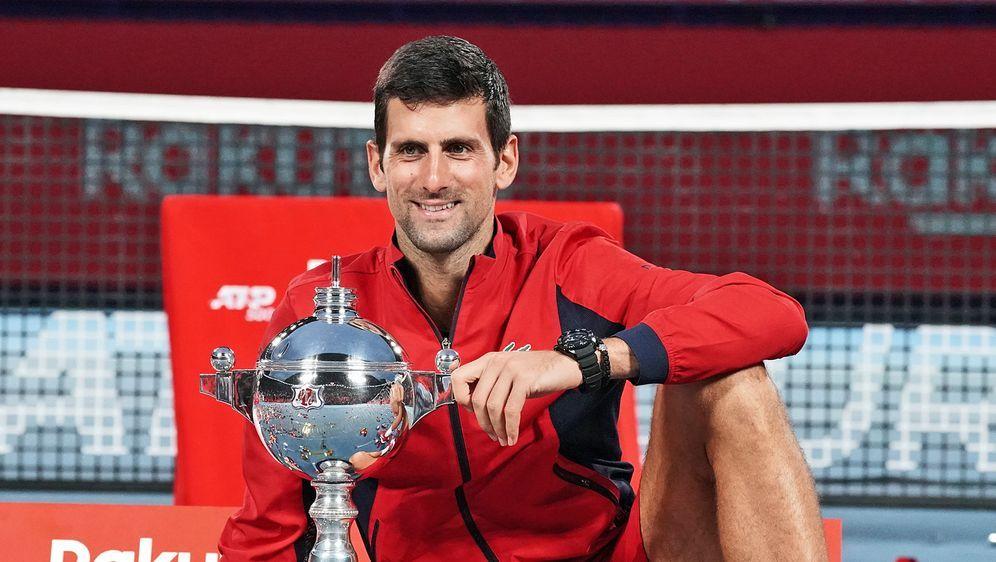 Novak Djokovic holt in Tokio seinen vierten Titel 2019 - Bildquelle: 2019 Getty images