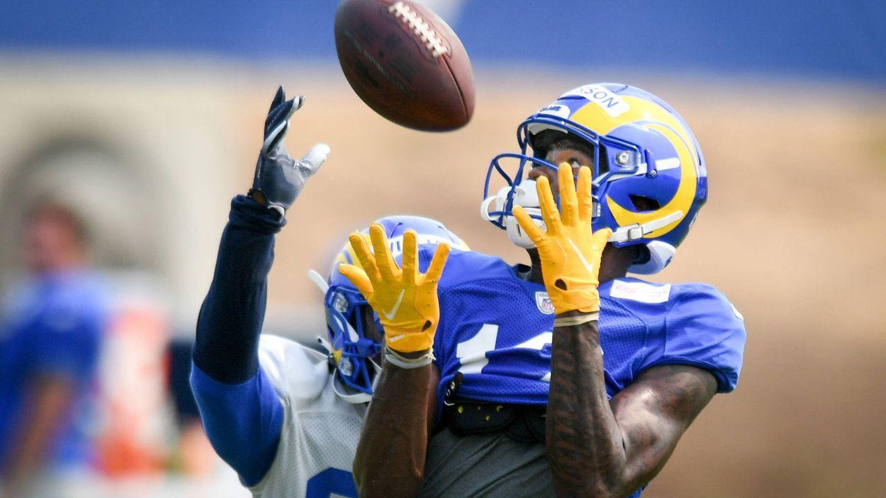Van Jefferson (Los Angeles Rams - Wide Receiver) - Bildquelle: imago images/ZUMA Wire