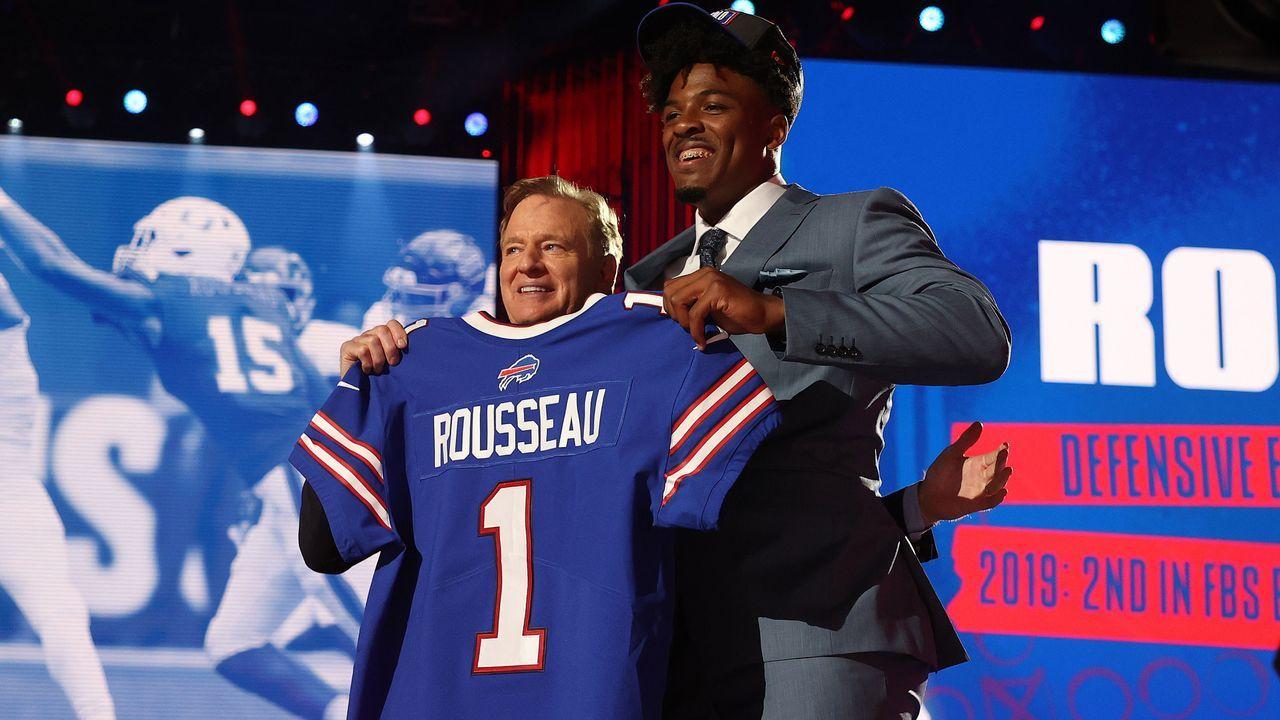 30. Pick - Gregory Rousseau (Defensive End, Buffalo Bills) - Bildquelle: 2021 Getty Images