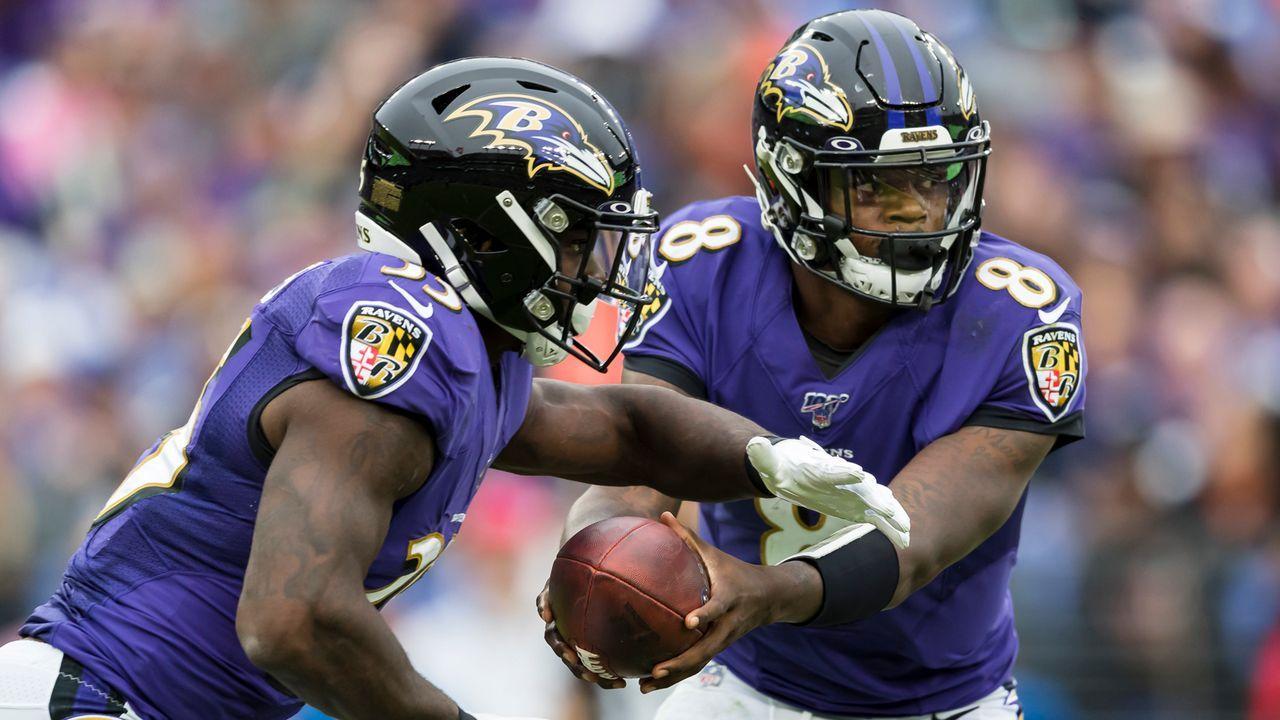 Rushing Offense: Baltimore Ravens - Bildquelle: 2019 Getty Images