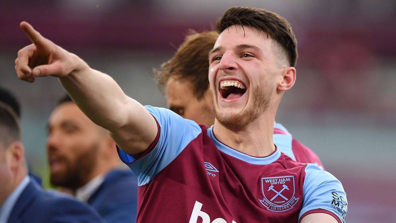 Declan Rice (West Ham United) - Bildquelle: imago images/PA Images