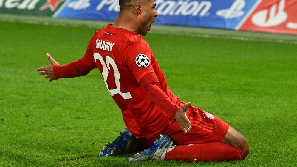 Serge Gnabry traf doppelt gegen den FC Chelsea - Bildquelle: AFPSIDGLYN KIRK