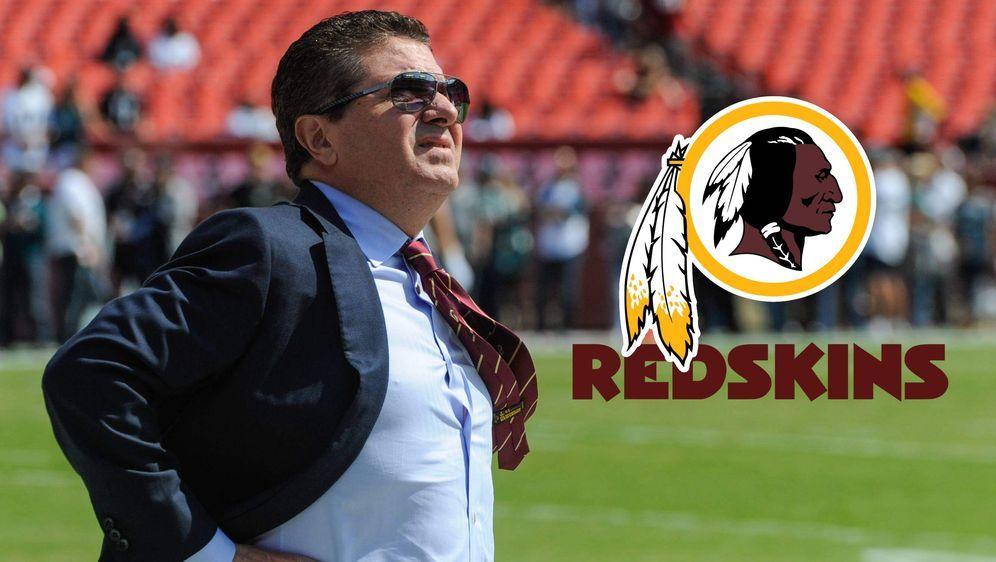 """Redskins-Owner Daniel Snyder: """"Das Logo wird nicht verändert"""". - Bildquelle: imago"""