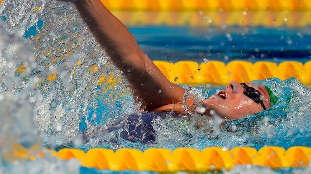 Russische Schwimmerin