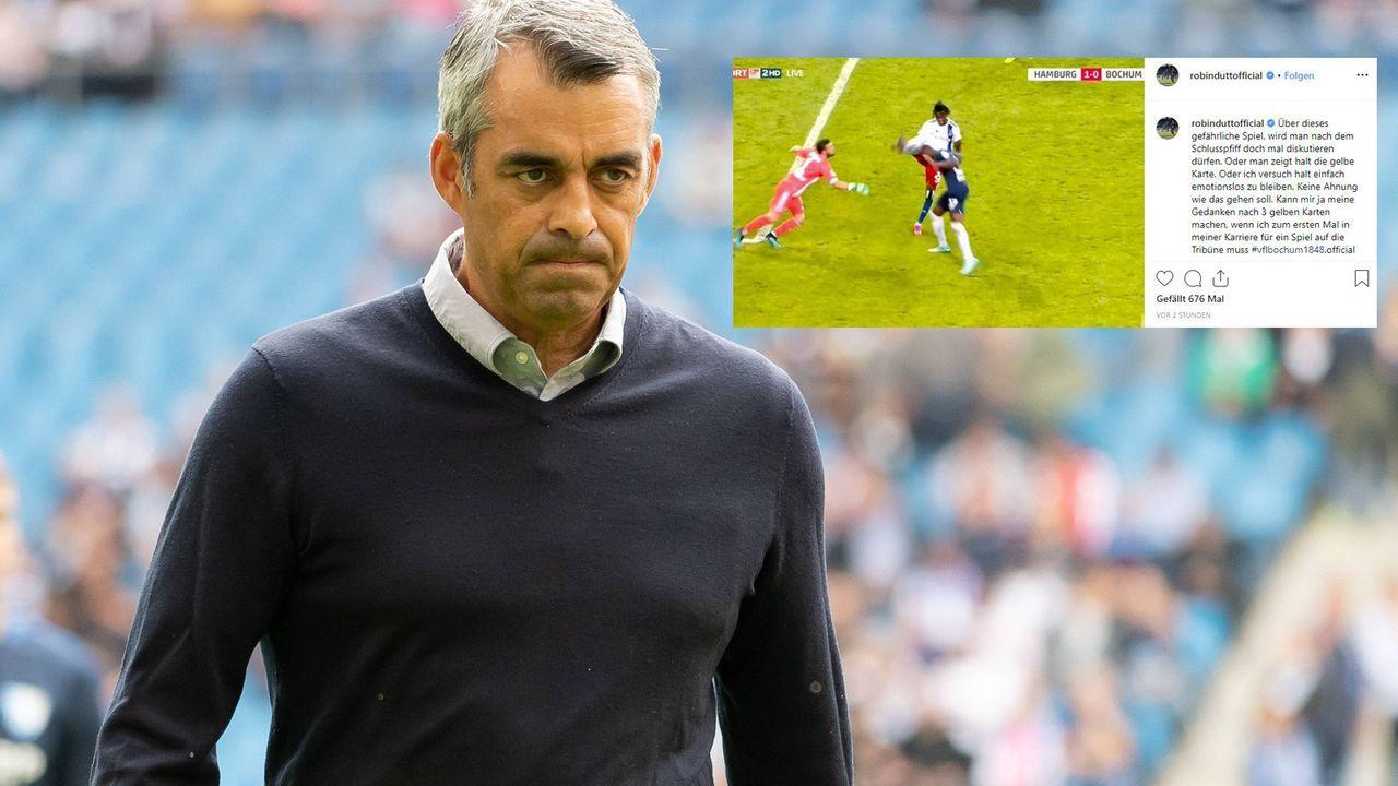 Robin Dutt wütet über Schiedsrichter - Bildquelle: imago
