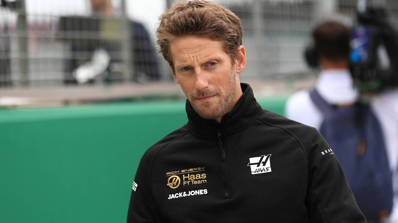 Romain Grosjean (Haas F1) - Bildquelle: imago images / Action Plus