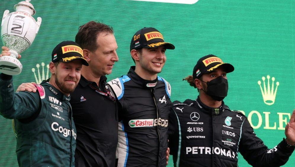 Die Sieger des Ungarn-Rennens in der Einzelkritik - Bildquelle: AFPSIDFERENC ISZA