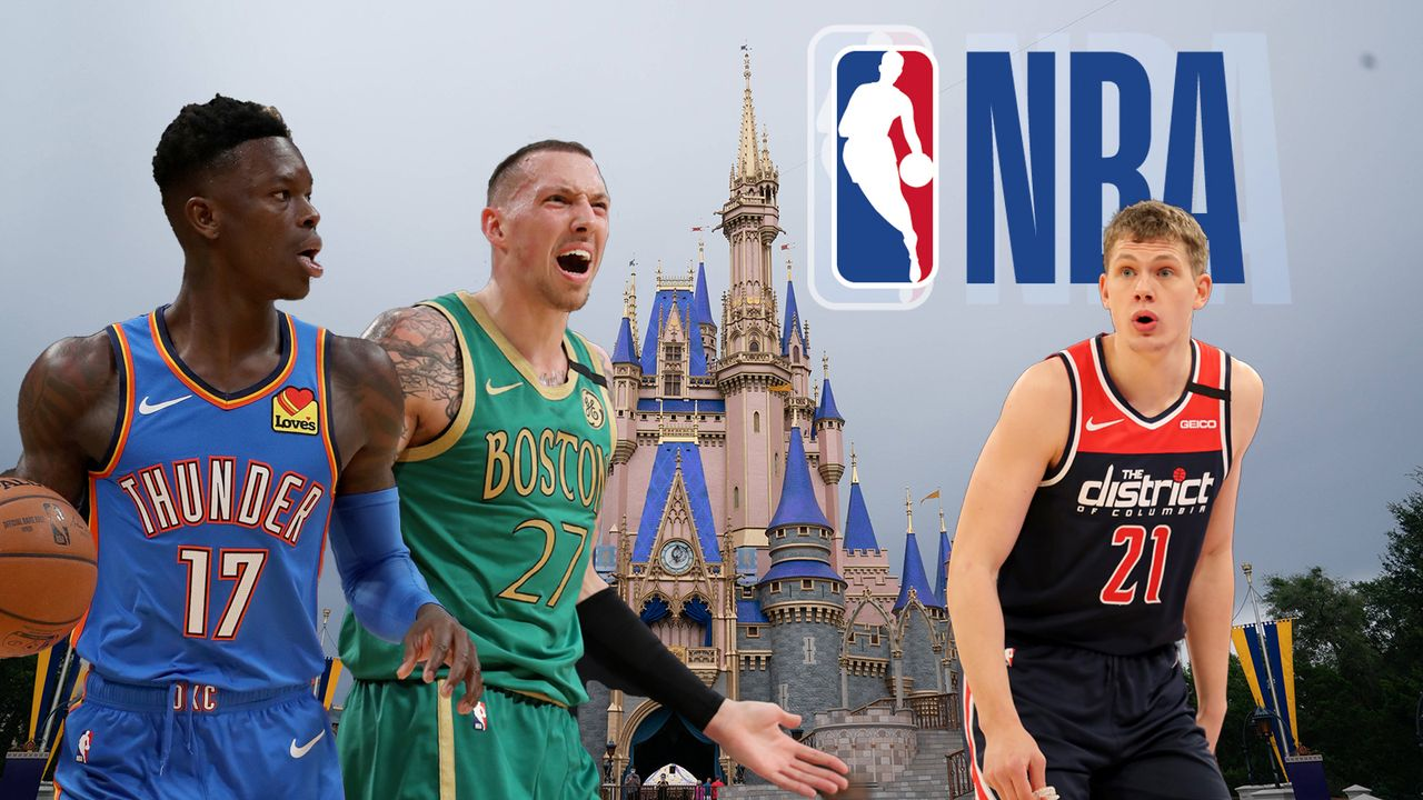 So lief der Bubble-Start der deutschen NBA-Profis - Bildquelle: Imago/GettyImages/Brandsoftheworld