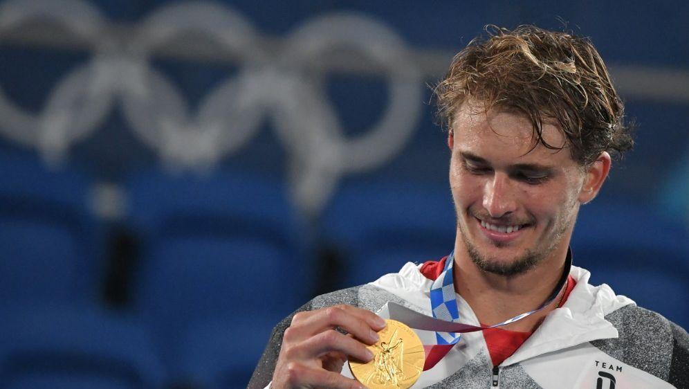 In Tokio sicherte sich Alexander Zverev Gold im Einzel - Bildquelle: AFPSIDTIZIANA FABI
