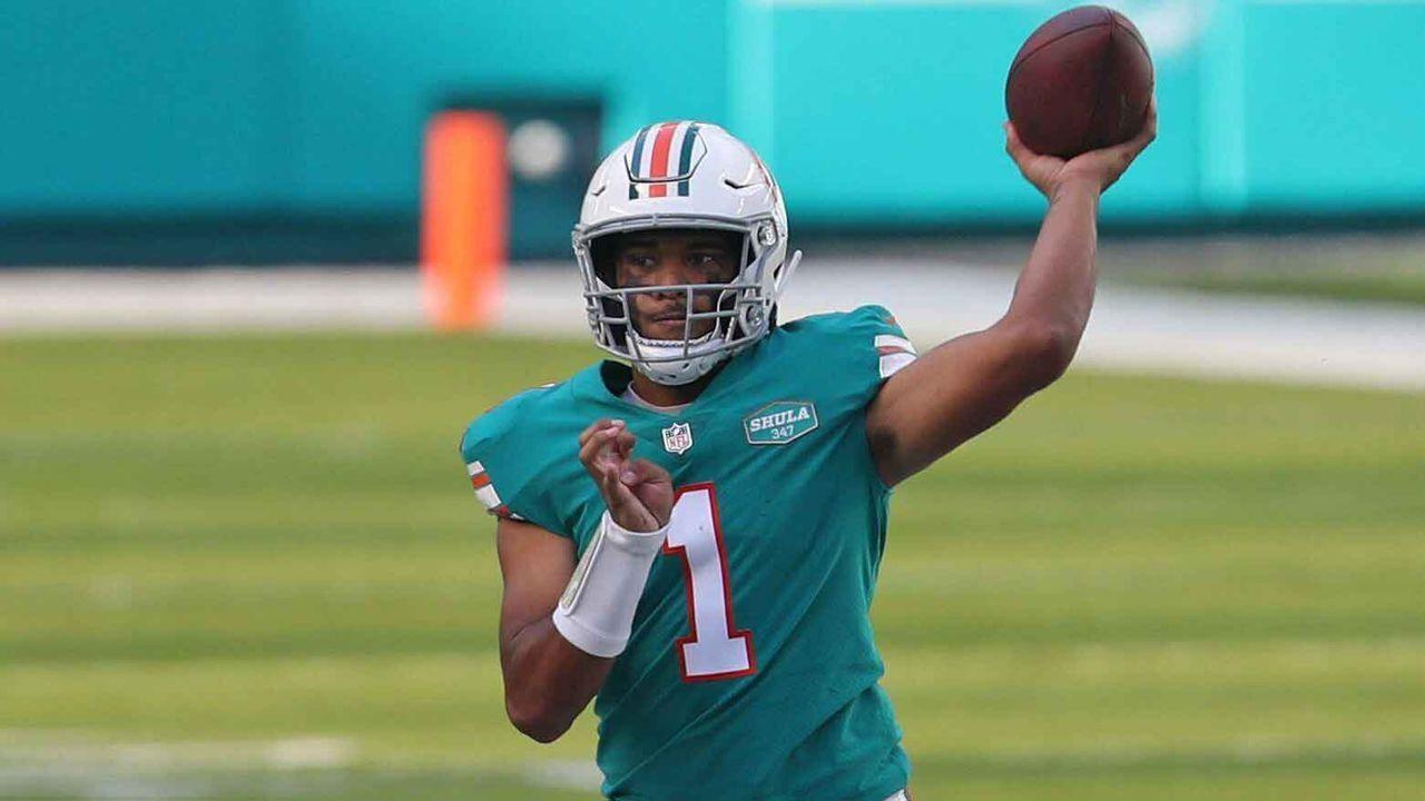 Tua Tagovailoa (23, Miami Dolphins) - Bildquelle: Imago Images