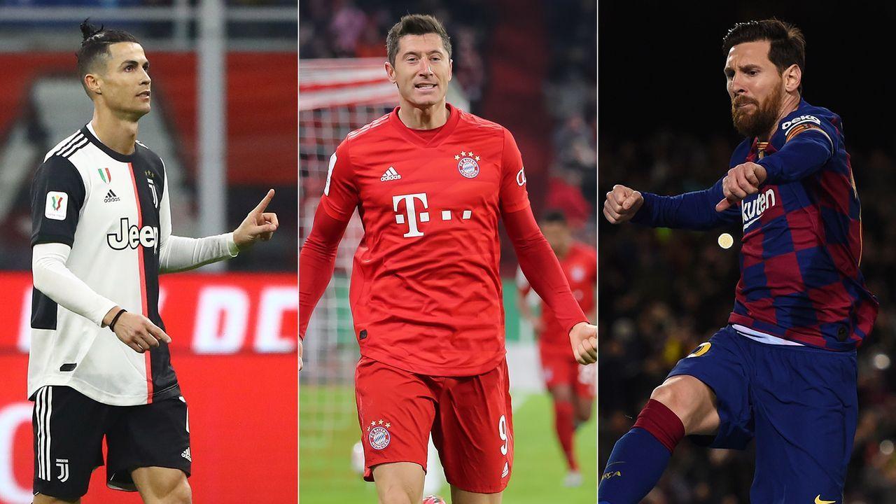 Der aktuelle Stand der europäischen Top-Ligen - Bildquelle: Getty Images