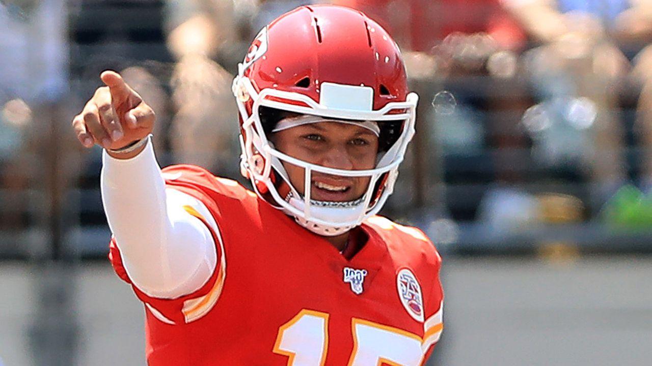 Quarterback: Patrick Mahomes  - Bildquelle: 2019 Getty Images