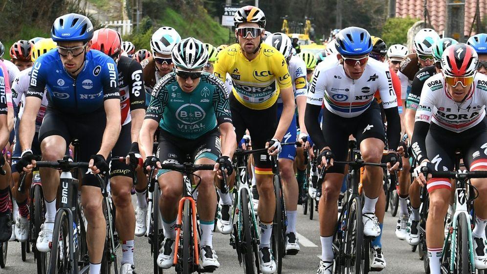 Das Radrennen war ursprünglich für den 14. Juni geplant - Bildquelle: AFPSIDALAIN JOCARD