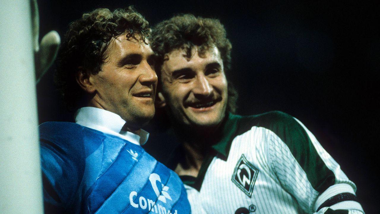 Saison 1985/86 - Bildquelle: imago/Kicker/Liedel