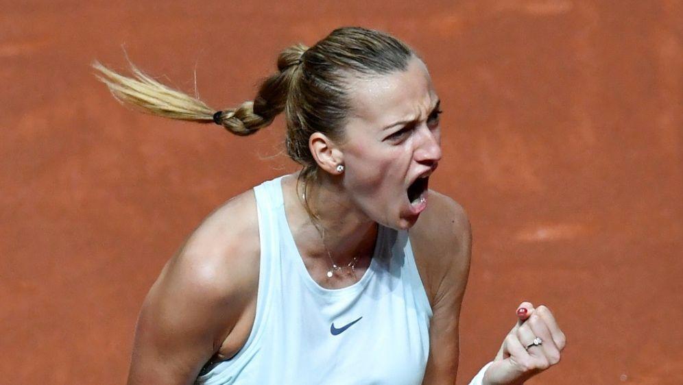 Kvitova siegte in zwei Sätzen - Bildquelle: AFPAFPTHOMAS KIENZLE