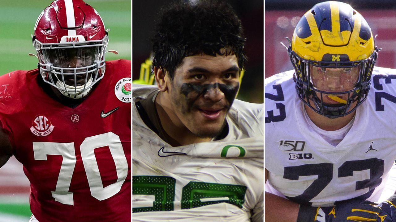Die besten O-Liner beim NFL Draft 2021 - Bildquelle: imago