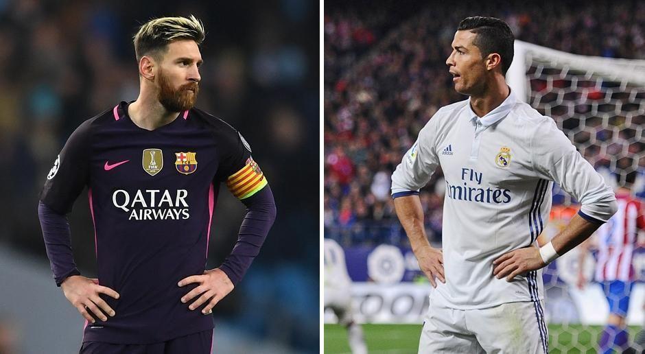 Lionel Messi vs. Cristiano Ronaldo - Bildquelle: getty images