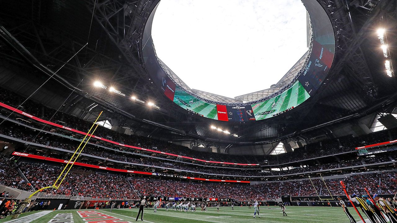 Atlanta Falcons: Mercedes-Benz Stadium - Bildquelle: Getty Images