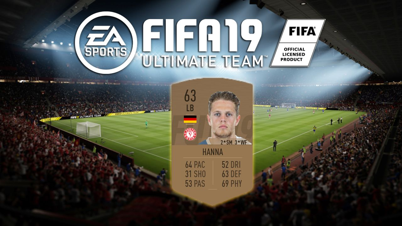 Platz 8: Joel Abu Hanna (SC Fortuna Köln) - Bildquelle: EA Sports