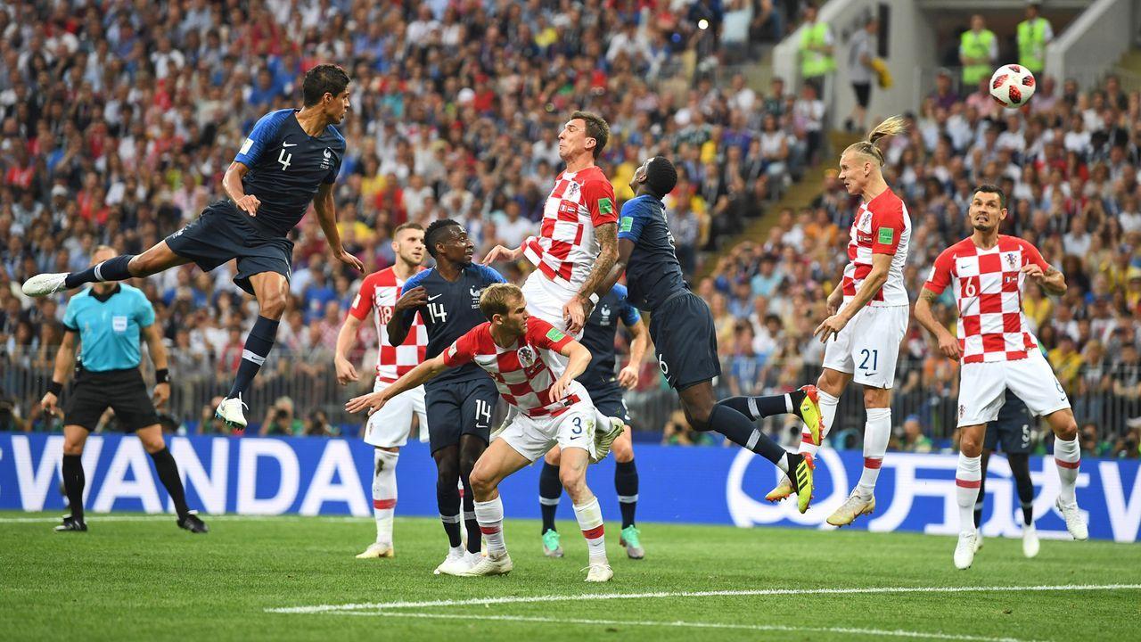 Mandzukic-Eigentor - Bildquelle: 2018 Getty Images