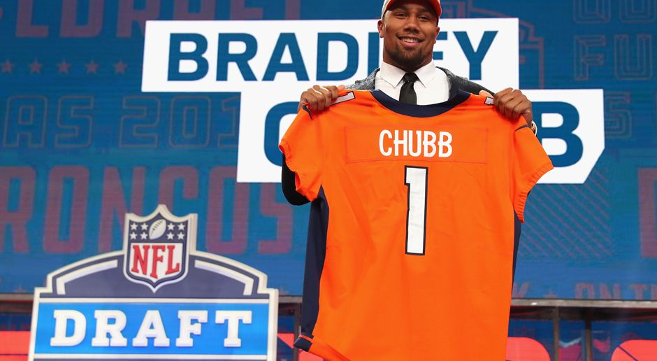 5. Pick - Denver Broncos: DE Bradley Chubb - Bildquelle: getty