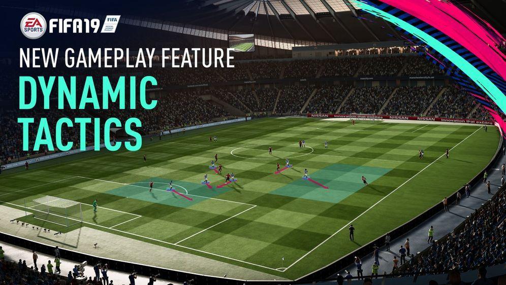 Dynamische Taktiken - Bildquelle: EA Sports