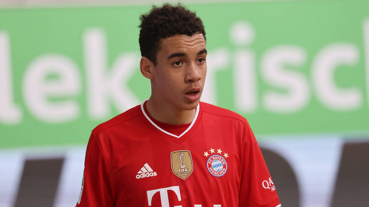 Platz 3: Jamal Musiala (FC Bayern München) - Bildquelle: Imago