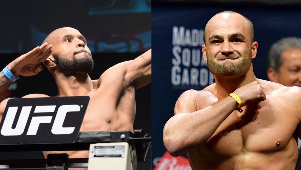 Die ehemaligen UFC-Champions Demetrious Johnson und Eddie Alvarez kämpfen im... - Bildquelle: imago sportfoto