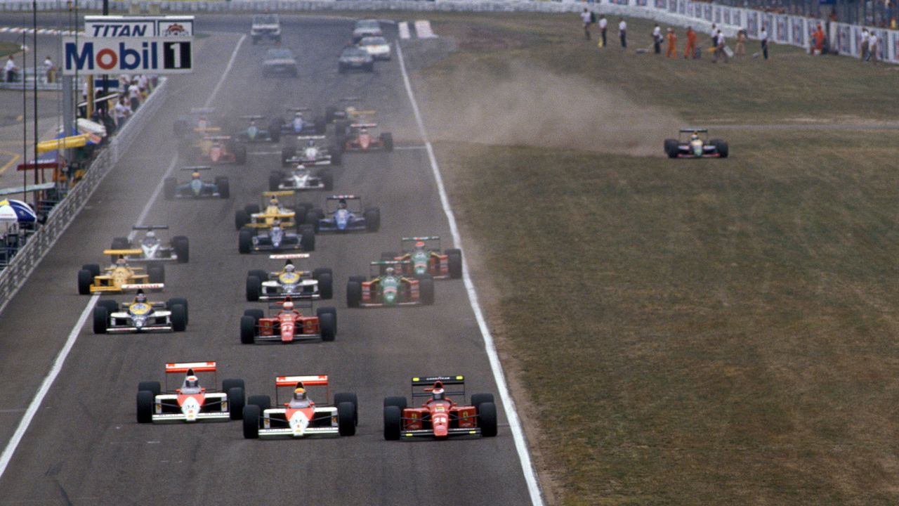 Die gute alte Formel 1 - Schwelgen in Erinnerungen - Bildquelle: imago/WEREK