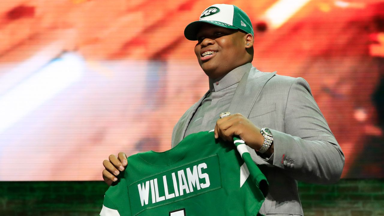 3. Pick - New York Jets: DT Quinnen Williams (Alabama) - Bildquelle: 2019 Getty Images