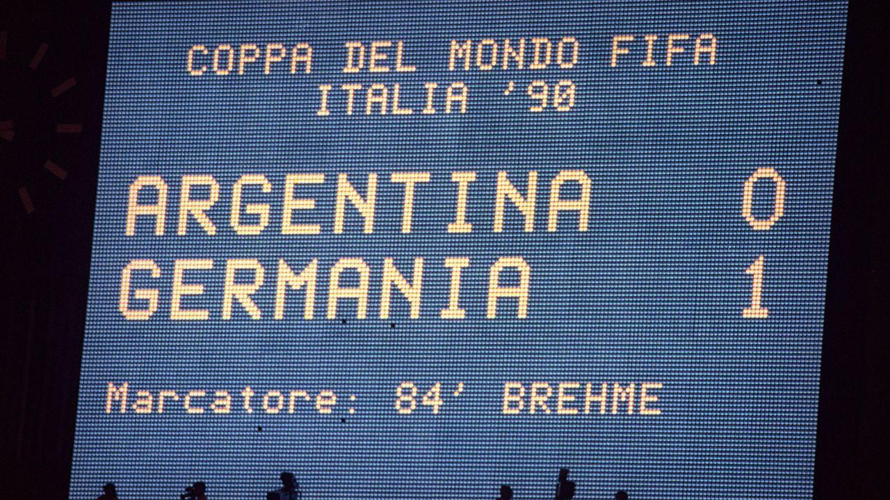 WM-Finale 1990: Argentinien - Deutschland - Bildquelle: imago images/Buzzi
