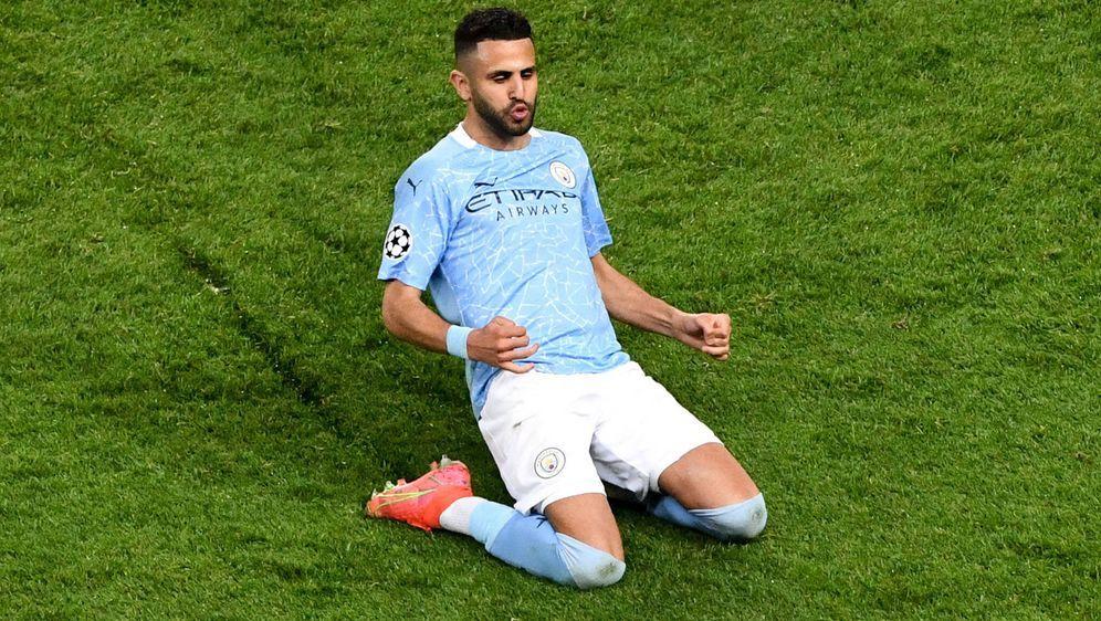 Riyad Mahrez schoss Manchester City in das Finale um die Champions League - Bildquelle: imago images/PanoramiC