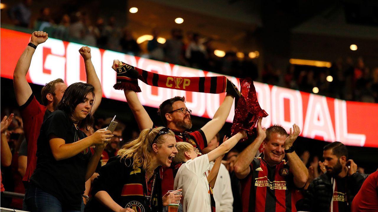 Platz 10: Atlanta United FC  - Bildquelle: 2018 Getty Images
