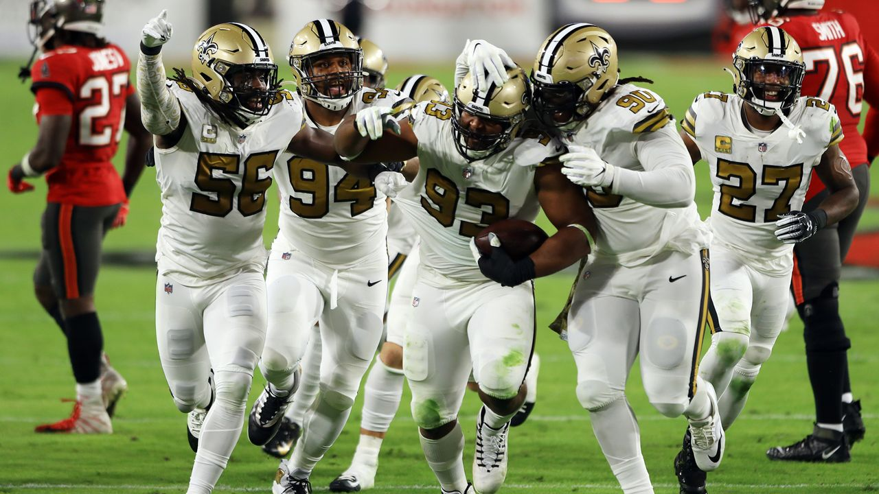 Gewinner: Defense der New Orleans Saints - Bildquelle: 2020 Getty Images