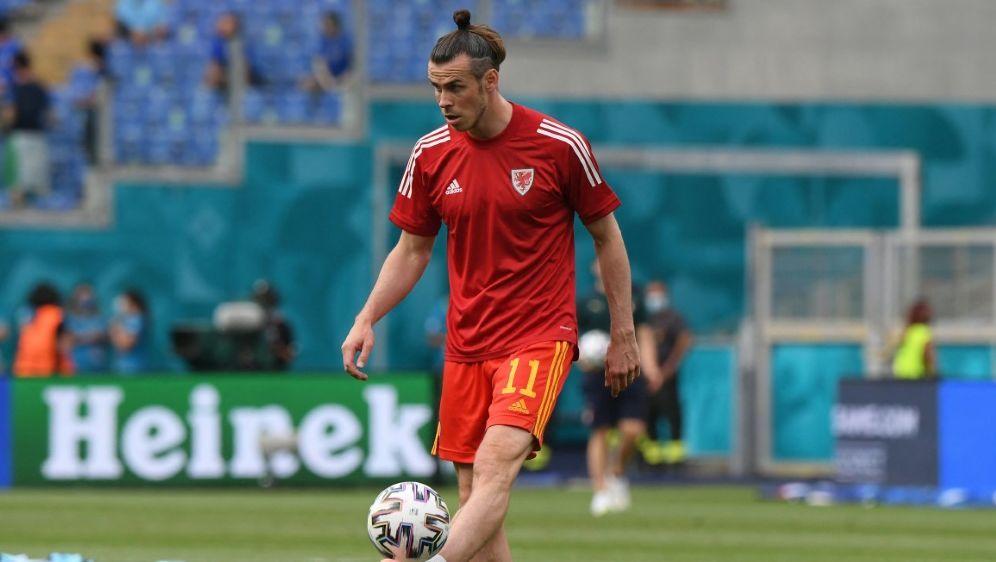 """Wales-Star Gareth Bale ist """"stolz auf die Jungs"""" - Bildquelle: AFPSIDALBERTO LINGRIA"""