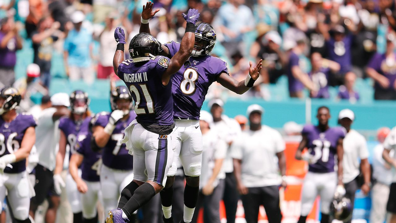 Platz 1: Baltimore Ravens - Bildquelle: getty