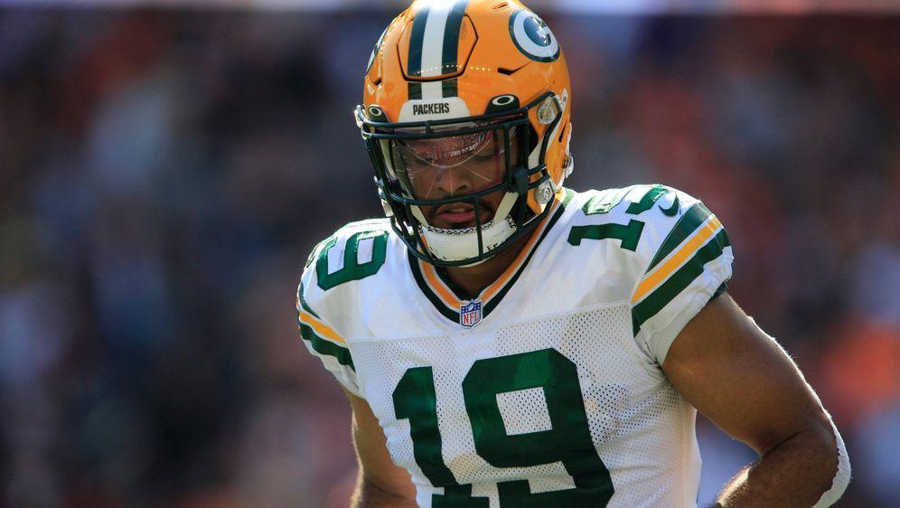Equanimeous St. Brown gehört vorerst zum festen Kader der Green Bay Packers - Bildquelle: Imago