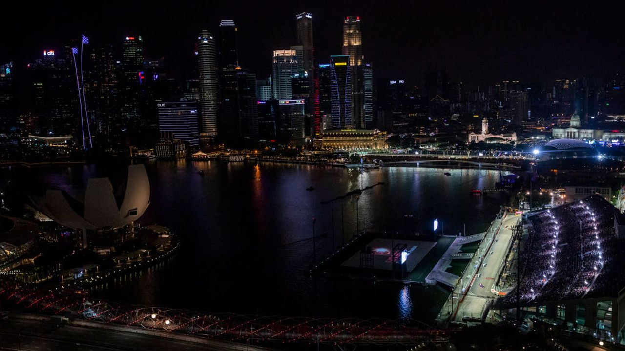 Marina Bay Circuit Singapur - Bildquelle: Getty