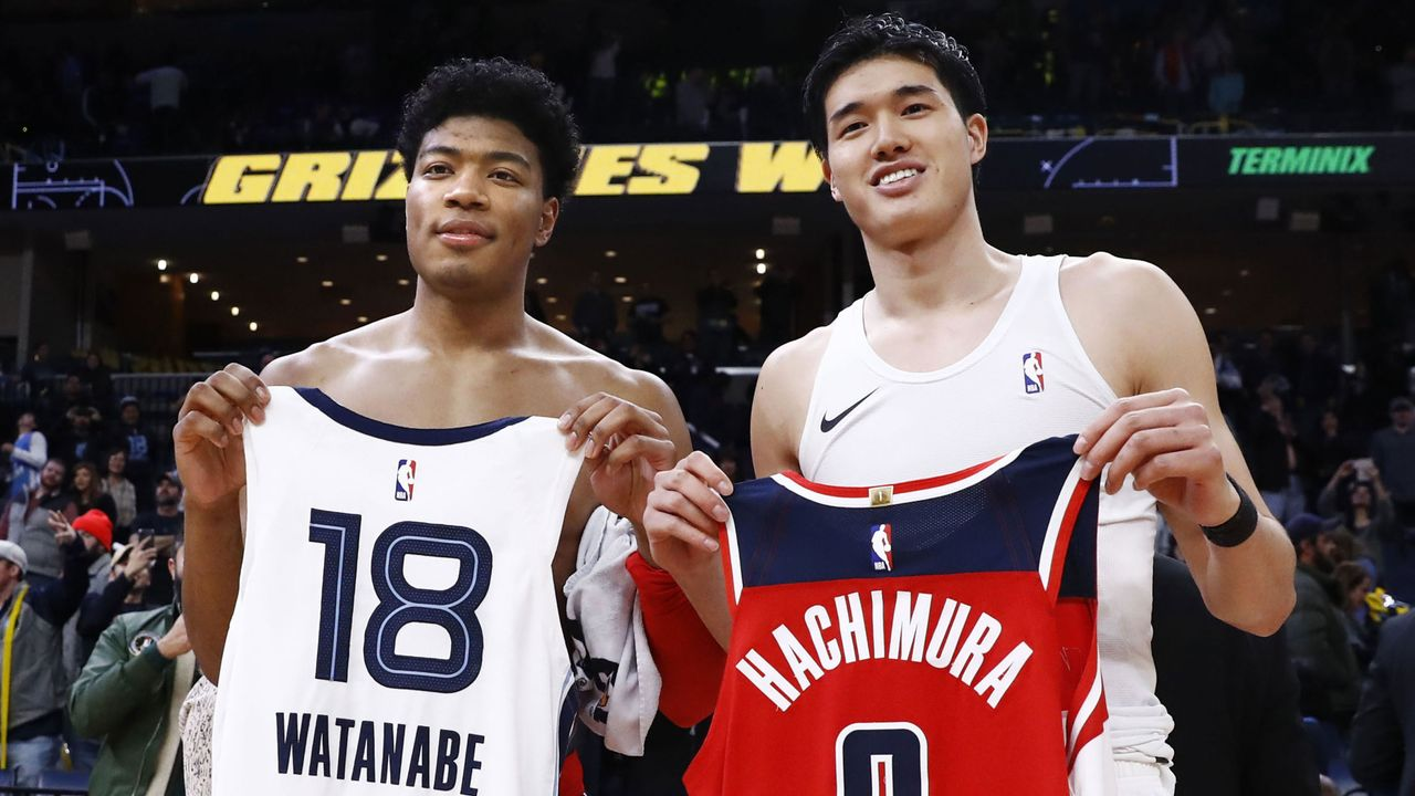 Japan (zwei NBA-Profis) - Bildquelle: imago images/Kyodo News